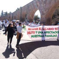 Pago de adeudos y atención a demandas, exigen sindicatos