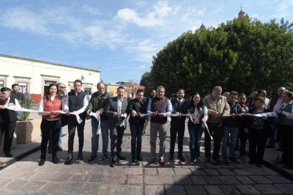 Ayuntamiento de Morelia inaugura obra en jardín de San José