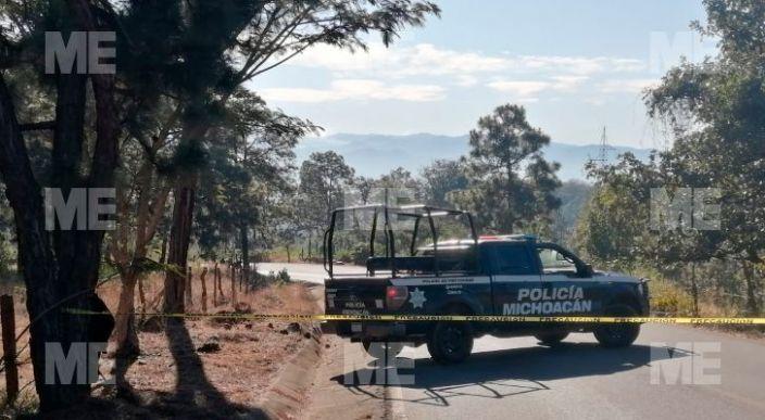 Encuentran un cadáver baleado y maniatado en Uruapan