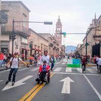 Ciclovía de Avenida Madero Poniente se quedará, confirma ayuntamiento de Morelia