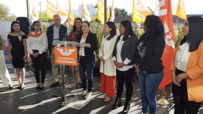 Movimiento Ciudadano generará agenda a favor de la protección de la mujer en Michoacán