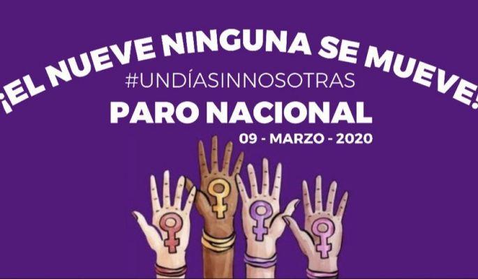 Mujeres Convocan a marcha y paro nacional para el 8 y 9 de marzo