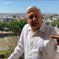 Desde Culiacán, AMLO acusa de montaje no dejarse tomar temperatura en aeropuerto