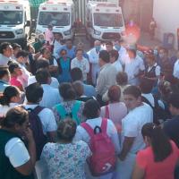 Enfermera del IMSS se manifiesta ante falta de insumos y de información del coronavirus (Video)