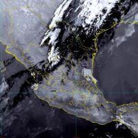 Probabilidad de chubascos con electricidad en el noroeste de México