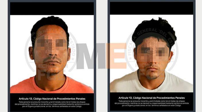 Dos detenidos por homicidio en Uruapan, Michoacán