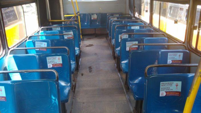 Ayuntamiento de Morelia implementó medidas preventivas en transporte público