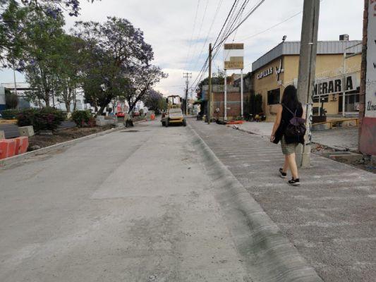 Ayuntamiento de Morelia asegura que lateral sur de Avenida Madero lleva avance del 95 por ciento