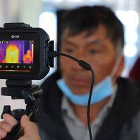 SSM usa cámaras térmicas como filtro sanitario en la Terminal de Autobuses de Morelia