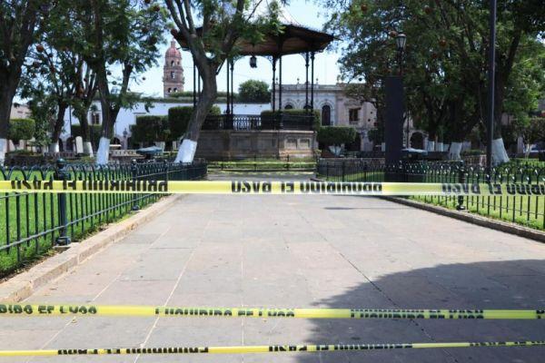 Reapertura de plazas y jardines de Morelia se definirá este fin de semana