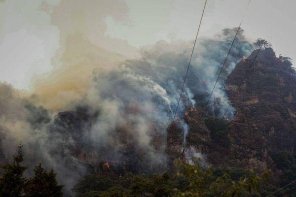 Mujer provocó el incendio en Tepoztlán por tratar de hacer Tik Tok