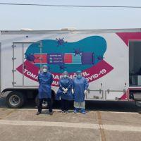 Instala SSM unidades móviles de toma de muestra en Apatzingán y Uruapan