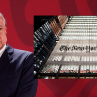 """""""New York Times no tiene ética"""": AMLO tras publicación sobre mujeres y Salgado Macedonio"""