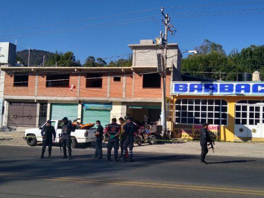 Privan de la vida a 4 hombres en un taller de motos en Curungueo, Michoacán