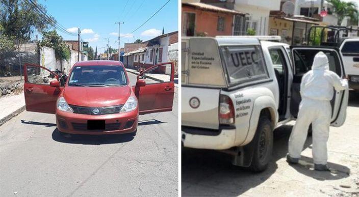 Atentado a balazos en Queréndaro deja el saldo de un fallecido y un lesionado