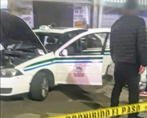 Taxista sobrevive a atentado en la zona poniente de Morelia, Michoacán
