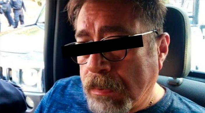 Detienen a exdiputado de MC que golpeó a su esposa en la vía pública