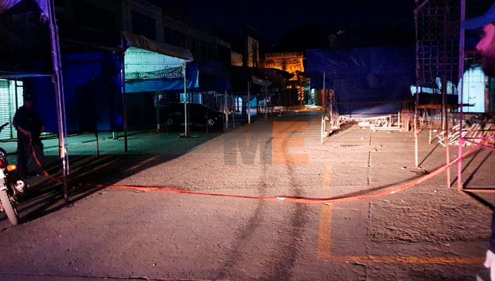 Joven comerciante es privado de la vida a tiros cerca del Mercado Hidalgo en Zamora