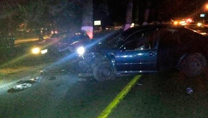 Tras el choque de 2 autos en Pátzcuaro, fallece un hombre