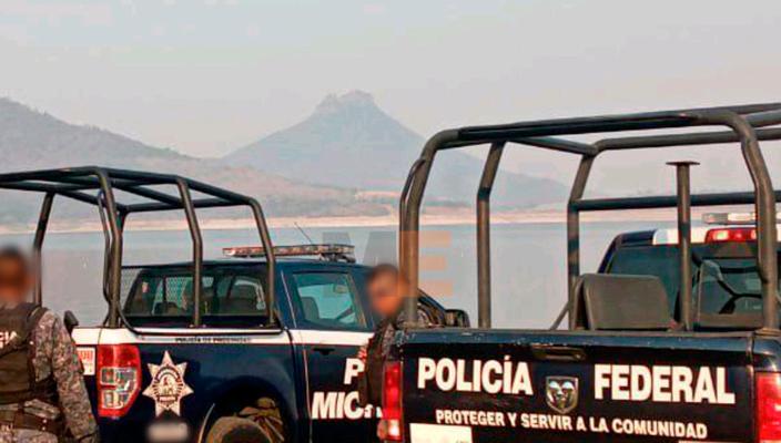 """Localizan torso humano en la presa """"General Francisco J. Múgica"""" de Michoacán"""