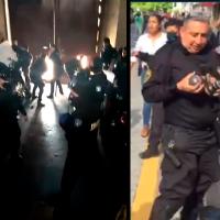 """""""Los vamos a matar"""": policías previo al enfrentamiento con manifestantes de Guadalajara (Video)"""