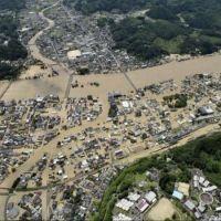 Desalojan pueblo en Japón por intensas lluvias