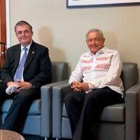 """Anuncia AMLO regresa a México tras una reunión """"con poco tiempo pero muy intensa"""" (video)"""