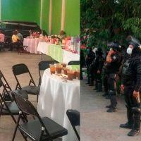 Disuelven fiesta que se desarrollaba con más de 50 personas en Morelia, Michoacán