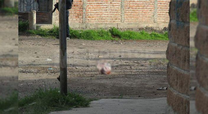 Dejaron una cabeza cercenada en la entrada al Fraccionamiento Altamira de Zamora