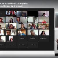 Diputada de MORENA muestra ignorancia al realizar un autoexhorto al propio Congreso de Michoacán