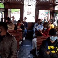 Tranvías de Morelia vuelven a circular en el Centro