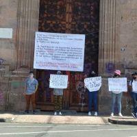 Con protestas, normalistas apoyan reponer evaluación de nuevo ingreso en todas las normales