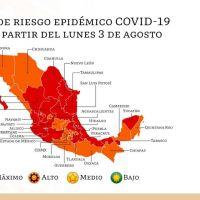 Michoacán entra al semáforo rojo de máximo riesgo por Covid-19
