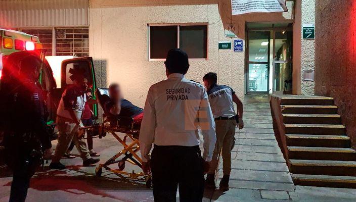 Atacan y dejan herido a contador en el Fraccionamiento Villa Olímpica de Zamora Michoacán