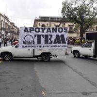Trabajadores del Espectáculo en Michoacán realizan caravana para exigir reunión con gobernador