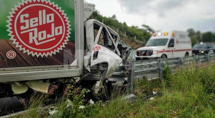 Un hombre quedó herido en accidente de vehículo comercial, en Jiménez