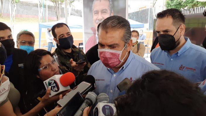 En septiembre habrá nueva estrategia de seguridad en Morelia, afirma Morón