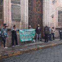 Comerciantes toman Palacio Municipal de Morelia, piden diálogo con autoridades