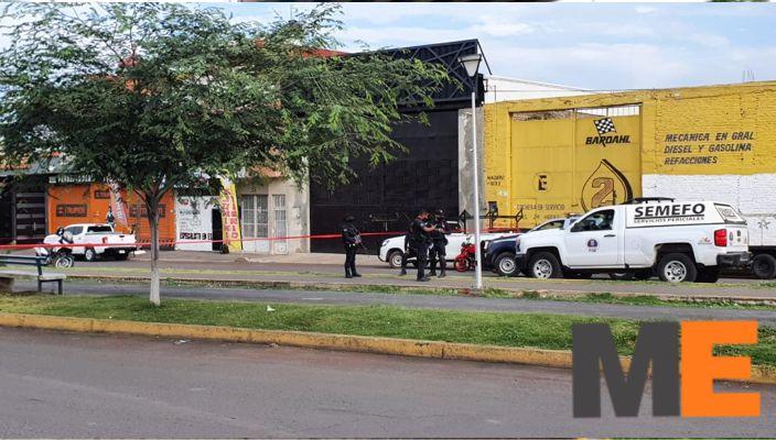 Muchacho muere tras agresión en su negocio de mofles en Jacona
