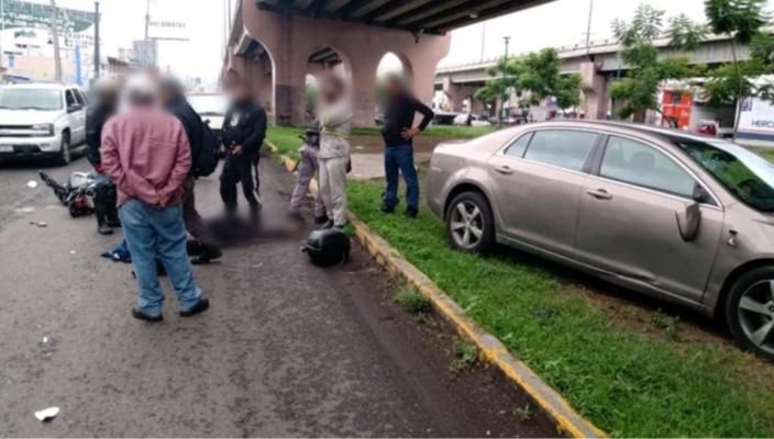 Vigilante del Agrupamiento Tigre es atropellado en Morelia, Michoacán