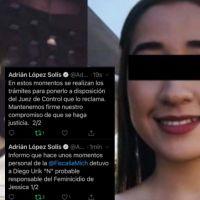 Detienen a Diego presunto asesino de Jessica en Jalisco