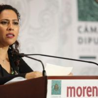 Denuncia diputada federal de Morena corrupción en SCT en la asignación de obras.
