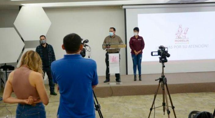 Con acciones de prevención y atención, Gobierno de Morelia atiende pandemia por COVID-19