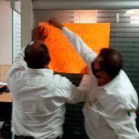 Trabajadores del hospital del ISSSTE exigen destitución de subdirectora administrativa