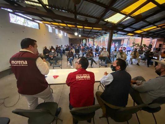 En Pátzcuaro el poder no se hereda: Militantes de Morena