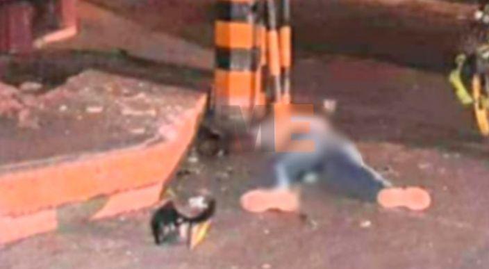 Motociclista muere al chocar contra un poste en la zona Centro de Jacona
