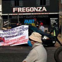 Vecinos de avenida Siervo de la Nación en Morelia rechazan construcción de puente vehicular