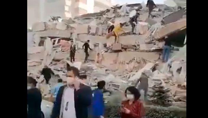 Sismo de magnitud 6,6 ha azotado el Mediterráneo oriental