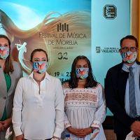 Con aforo del 50% y conciertos virtuales, Festival de Música de Morelia se hará del 19 al 22 de noviembre