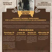 La Red Ciudadana para el Desarrollo de las Colonias de Santa María de Guido, realizará la Caravana de los Panaderos
